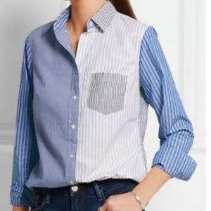 J. Crew Cocktail Button Down Shirt 6 II3438